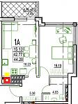 Нажмите на изображение для увеличения Название: 1-А 4 этаж.jpg Просмотров: 15 Размер:77.9 Кб ID:12803095