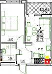 Нажмите на изображение для увеличения Название: 1-Б 4 этаж.jpg Просмотров: 15 Размер:67.8 Кб ID:12805944