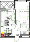 Нажмите на изображение для увеличения Название: 1-В 6 этаж.jpg Просмотров: 21 Размер:67.8 Кб ID:12814856