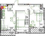 Нажмите на изображение для увеличения Название: 2-А 4 этаж.jpg Просмотров: 20 Размер:111.6 Кб ID:12814863