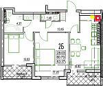 Нажмите на изображение для увеличения Название: 2-Б 4 этаж.jpg Просмотров: 19 Размер:112.4 Кб ID:12838295