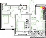 Нажмите на изображение для увеличения Название: 2-Б 3 этаж.jpg Просмотров: 22 Размер:113.3 Кб ID:12838324
